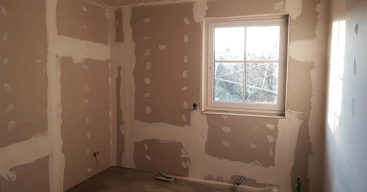 Fertigstellung der Installationen im Innenbereich